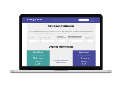 Time Savings Calculator