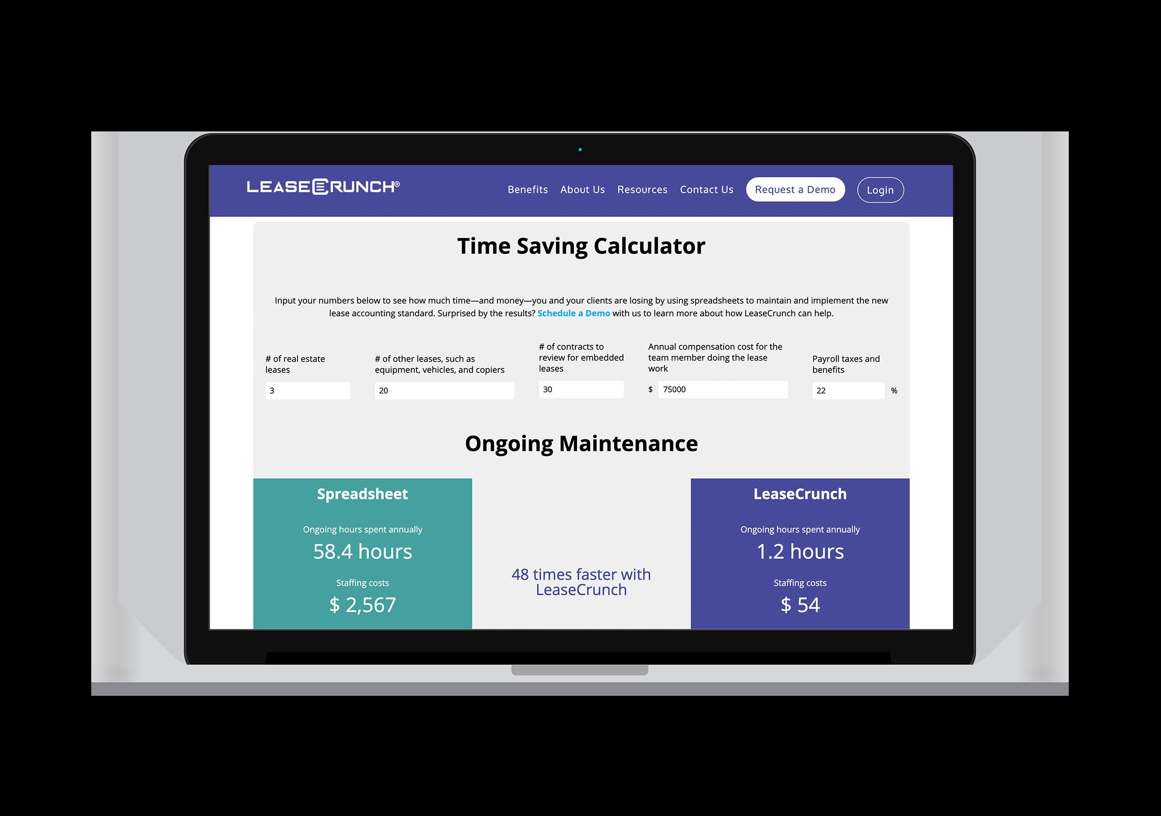 LC_TimeSavingsCalculator_Mock