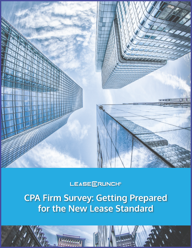 CPA Firm Survey: Getting Prepared for the New Lease Standard
